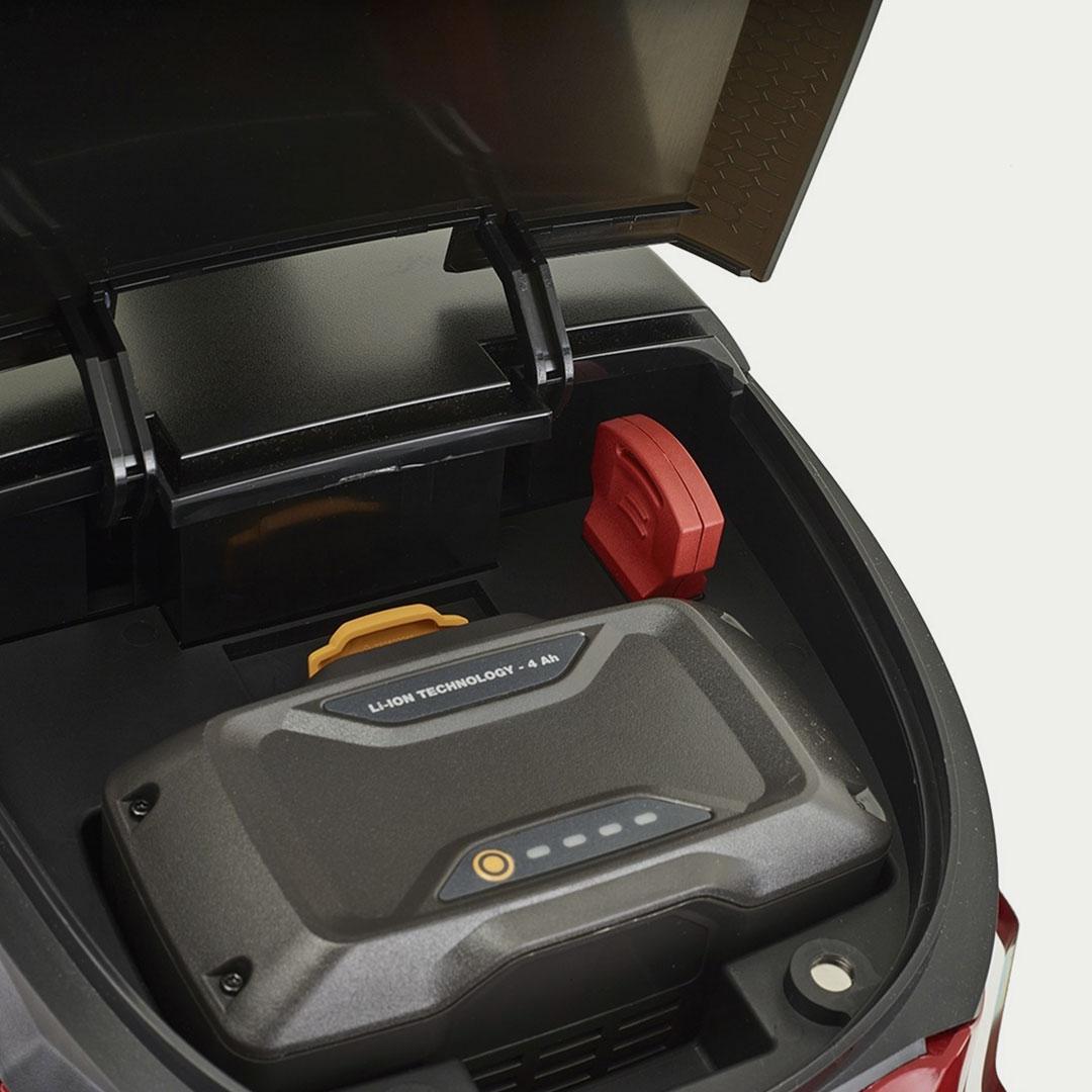Powerhead Stiga Lawn mower product design by Giulio Simeone Design Studio