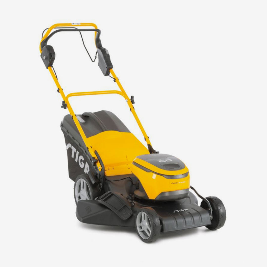 Powerhead Stiga Lawn mower product design by Giulio Simeone Design Studio