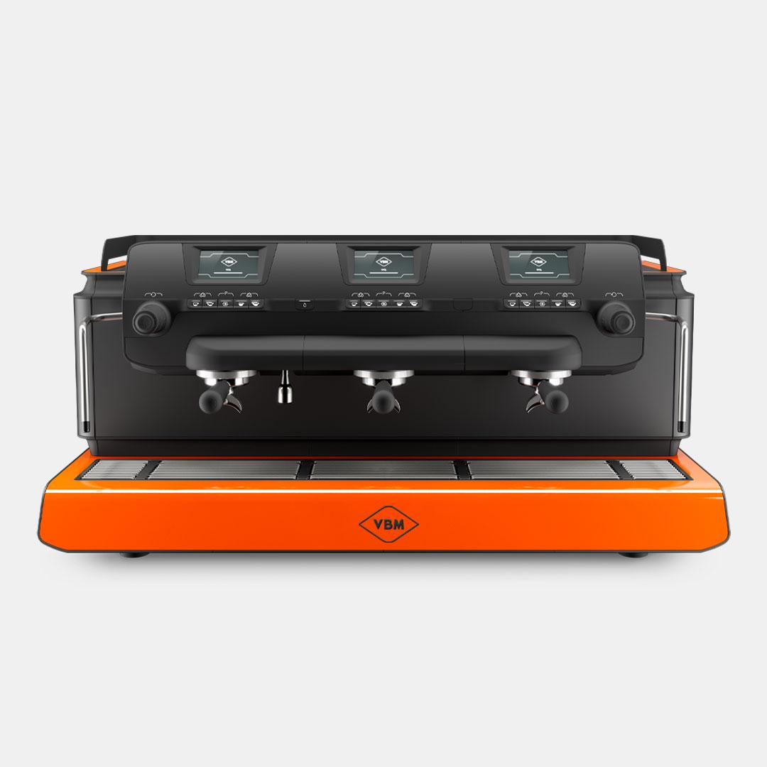 Tecnique VBM coffee machine product design by Giulio Simeone Design Studio