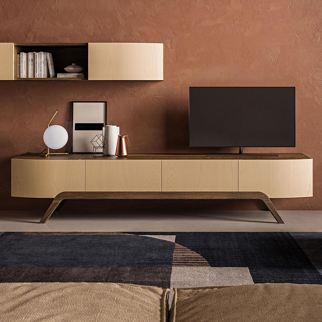 Aria TV unit - Furniture - Product Design by Giulio Simeone Design Studio